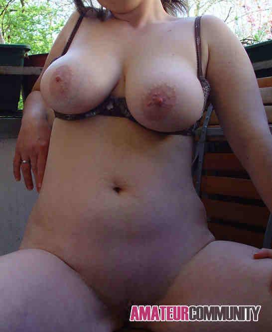 geile Schlampe mit fetten Titten